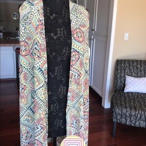 LuLaRoe Joy. Long sleeveless cardigan